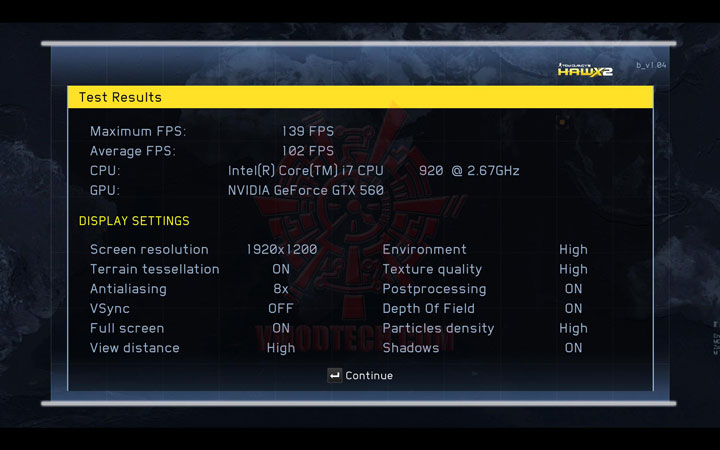 hawx2 1 PaLiT NVIDIA GeForce GTX 560 SONIC Platinum 1GB GDDR5 Debut Review