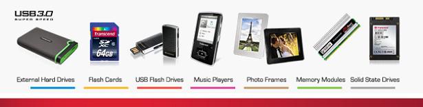 down Transcend เปิดตัวผลิตภัณฑ์ 1TB USB 3.0 และฮาร์ดดิสก์พกพา USB 2.0