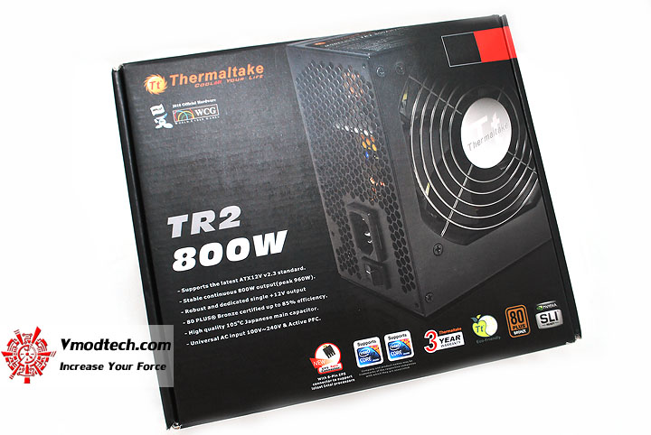 dsc 0026 Thermaltake Power Supply TR2 800W