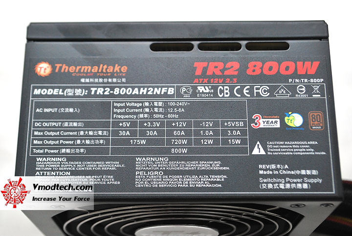 dsc 0034 Thermaltake Power Supply TR2 800W
