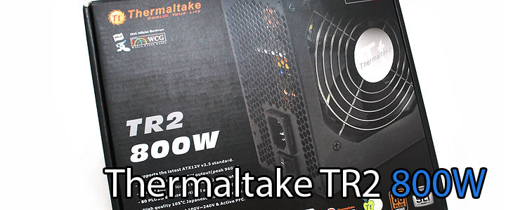 main Thermaltake Power Supply TR2 800W