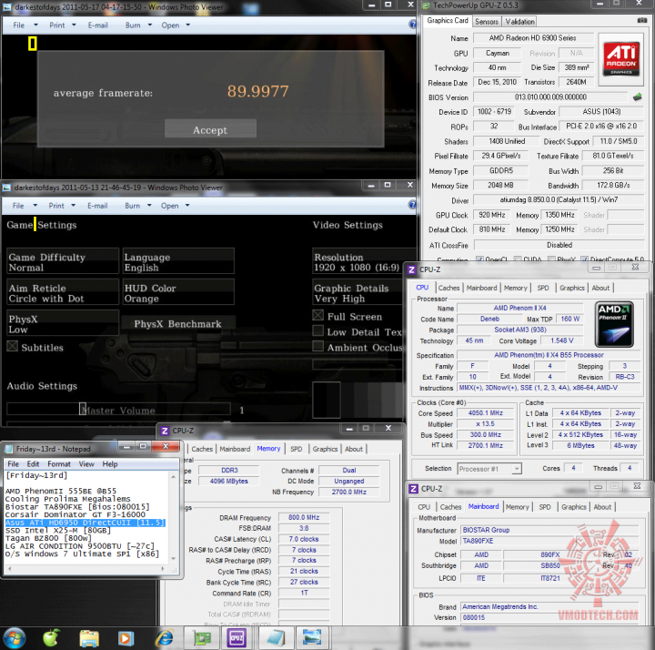 920 1350 physx dod 8999 720x714 Asus ATi HD6950 DirectCUII 2GB/GDDR5 : Review