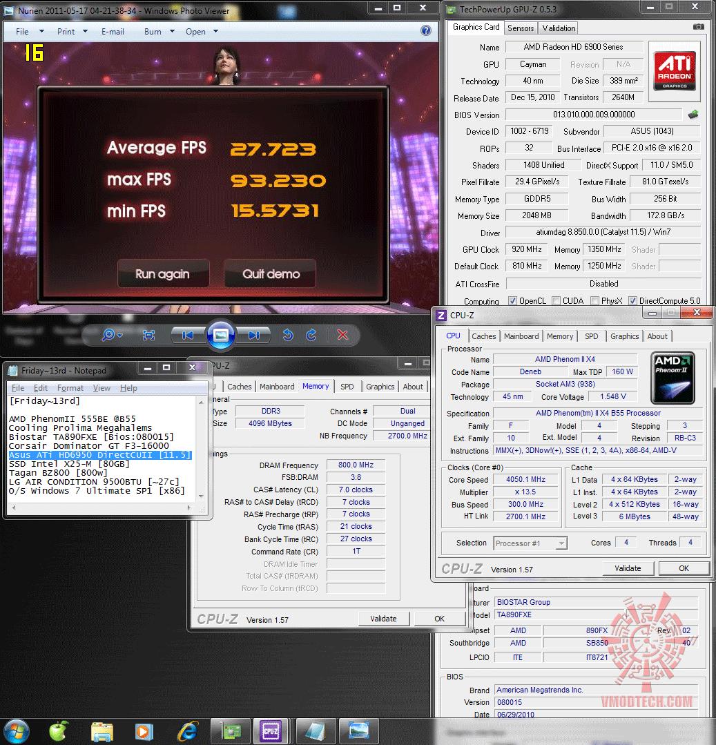 920 1350 physx nurien 2772 Asus ATi HD6950 DirectCUII 2GB/GDDR5 : Review