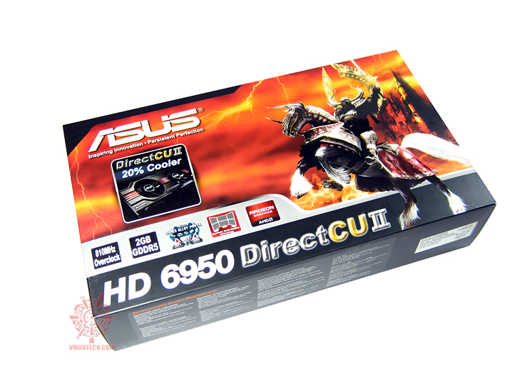 asus hd6950 01 Asus ATi HD6950 DirectCUII 2GB/GDDR5 : Review