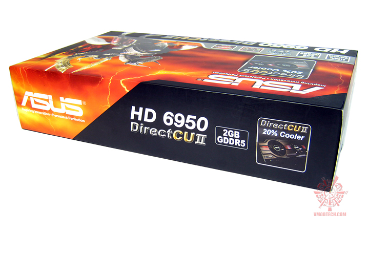 asus hd6950 03 Asus ATi HD6950 DirectCUII 2GB/GDDR5 : Review