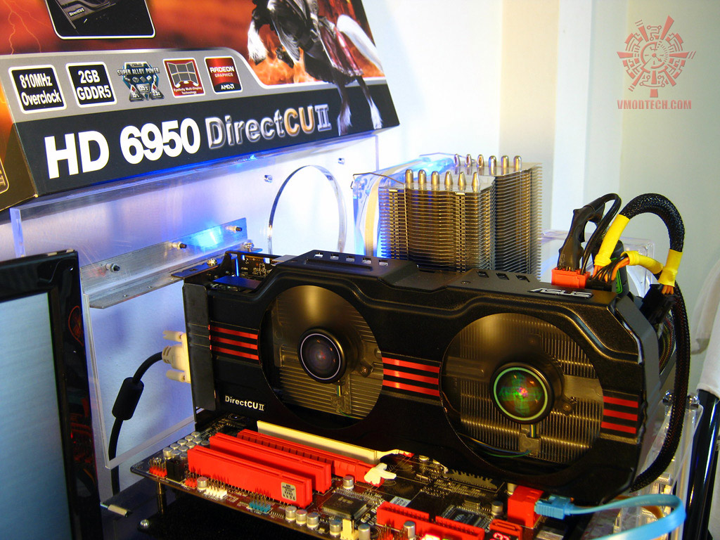 system 01 Asus ATi HD6950 DirectCUII 2GB/GDDR5 : Review
