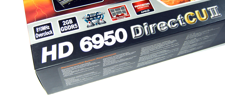 title introduction Asus ATi HD6950 DirectCUII 2GB/GDDR5 : Review