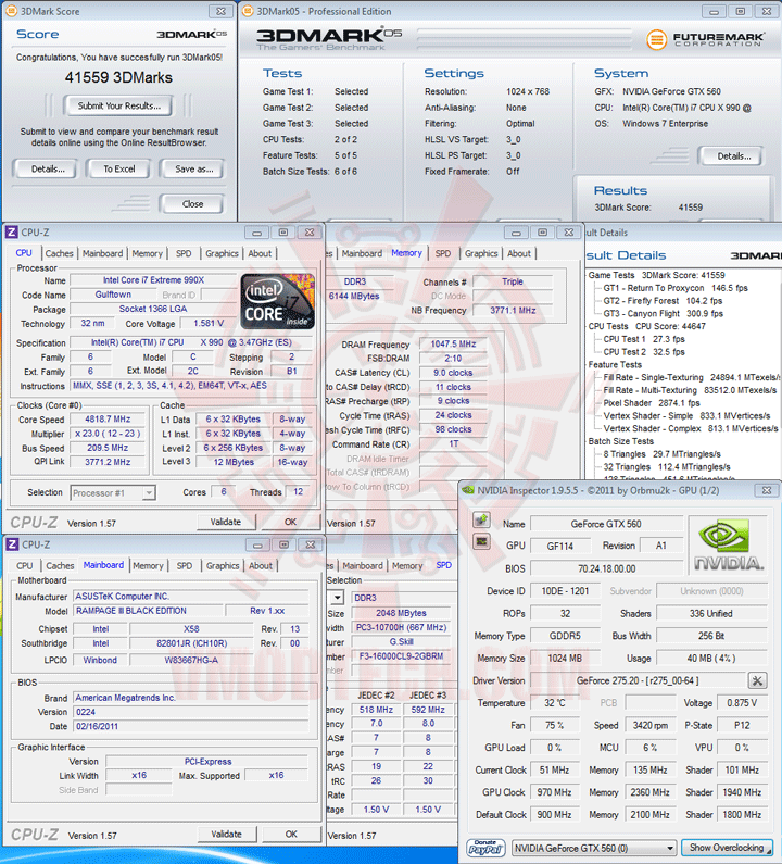 05 Intel Core i7 990X Extreme Edition & ASUS Rampage III Black Edition Review