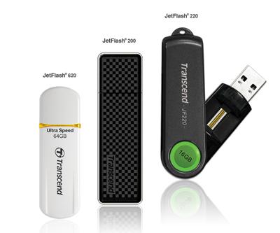jf200 220 620pr s Transcend ส่งUSBแฟลชไดร์ฟ JetFlash 200 พร้อมระบบรักษาความปลอดภัยครบถ้วน