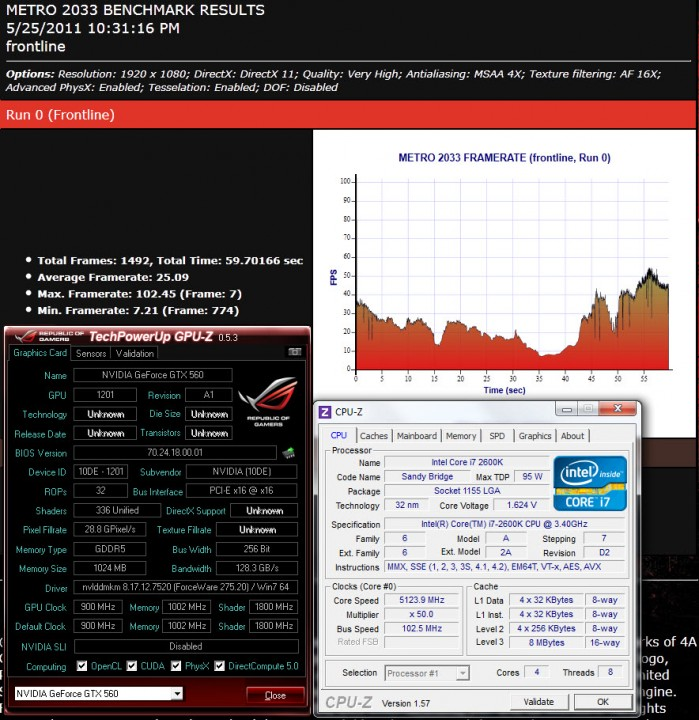 metro de 699x720 GIGABYTE N56GSO 1GI Winforce Nvidia GTX 560