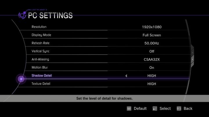 lp2 setting1 720x405 GIGABYTE N56GSO 1GI Winforce Nvidia GTX 560