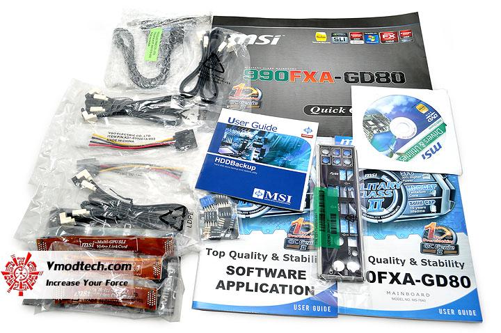 dsc 0053 msi 990FXA GD80 AMD 990FX Motherboard Debut Review