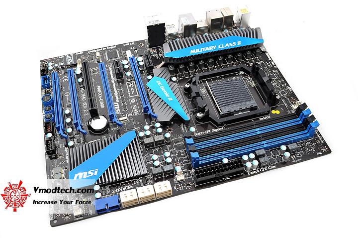 dsc 0058 msi 990FXA GD80 AMD 990FX Motherboard Debut Review