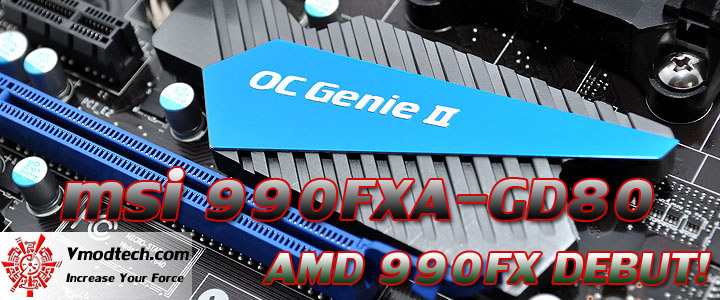 msi 990fxa gd80 msi 990FXA GD80 AMD 990FX Motherboard Debut Review