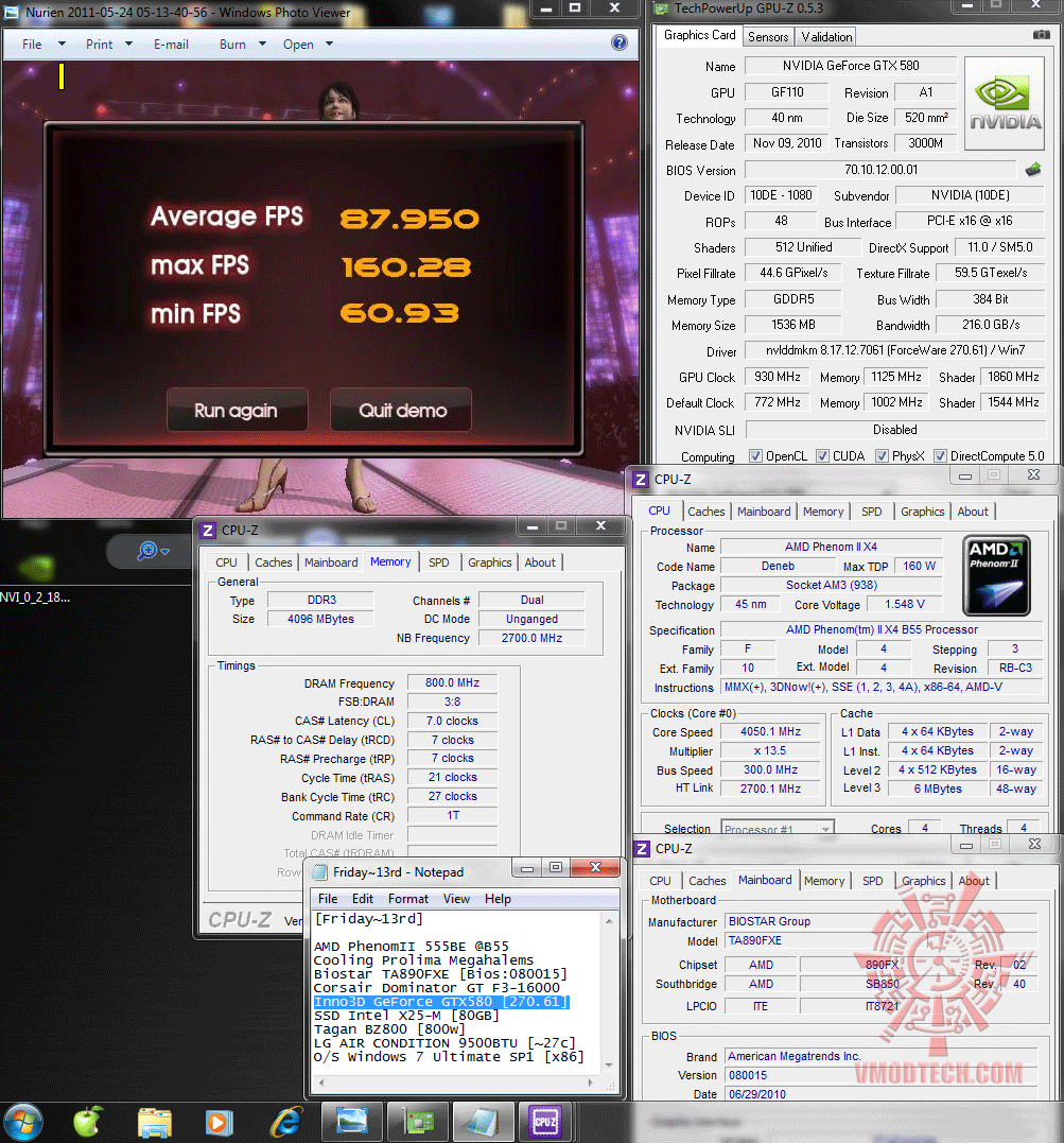 930 1125 1138v physx nurien 8795 Inno3D GeForce GTX580 : Review
