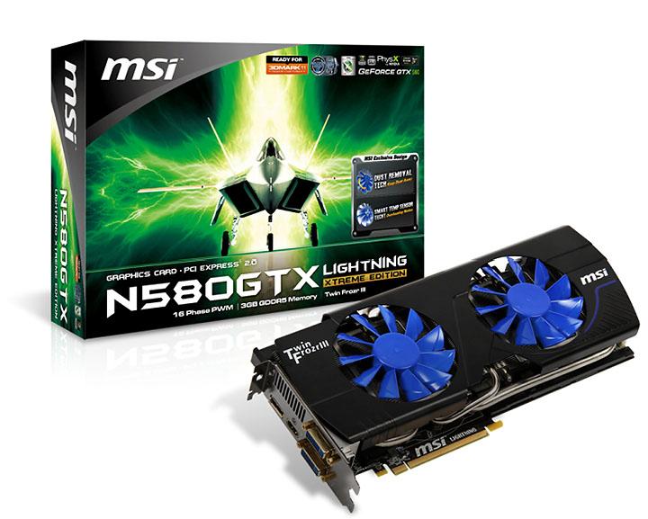 pic MSI เปิดตัว N580GTX Lightning Xtreme Edition, สุดยอดกราฟิกการ์ดทรงพลังในงาน COMPUTEX 2011