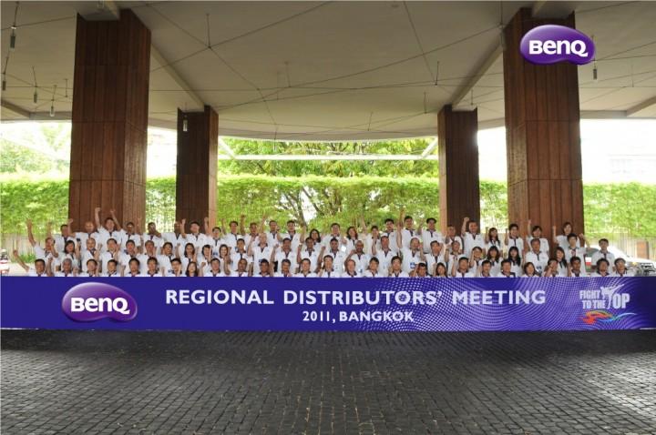 1 720x478 BenQ ชูความเป็นหนึ่งจัดประชุมตัวแทนจำหน่ายระดับภูมิภาคเอเชียปี 2011 ณ ประเทศไทย
