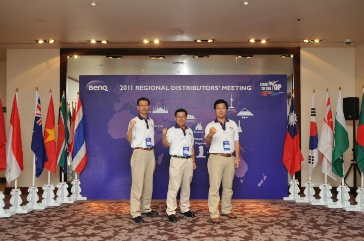 2 720x478 BenQ ชูความเป็นหนึ่งจัดประชุมตัวแทนจำหน่ายระดับภูมิภาคเอเชียปี 2011 ณ ประเทศไทย