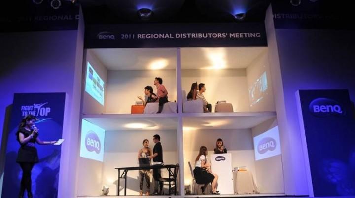 3 720x401 BenQ ชูความเป็นหนึ่งจัดประชุมตัวแทนจำหน่ายระดับภูมิภาคเอเชียปี 2011 ณ ประเทศไทย