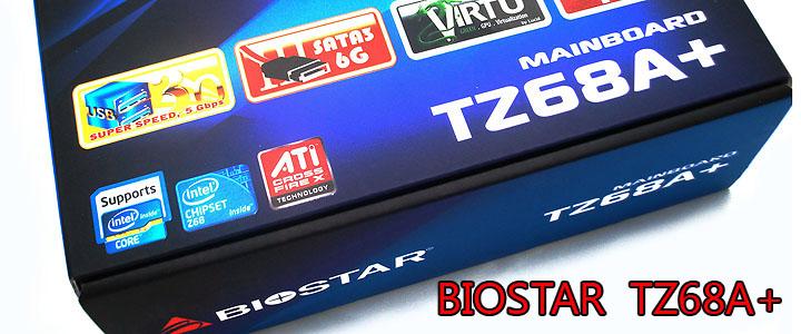 main1 BIOSTAR TZ68A+ Motherboard Z68