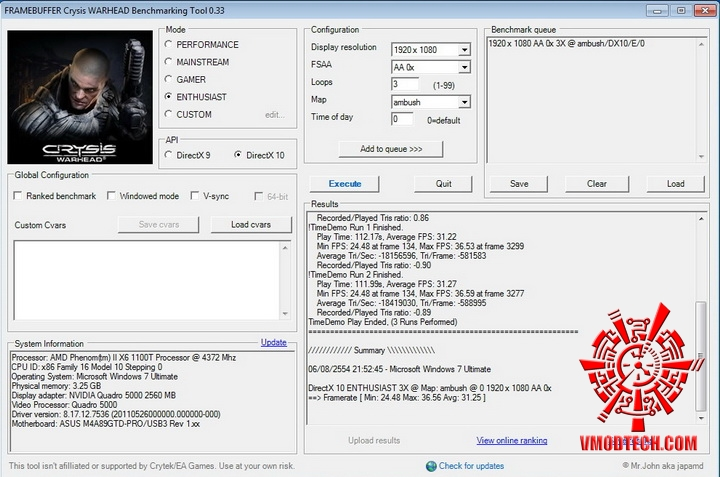 crysis 670 PNY Quadro 5000 2.5GB GDDR5 Review
