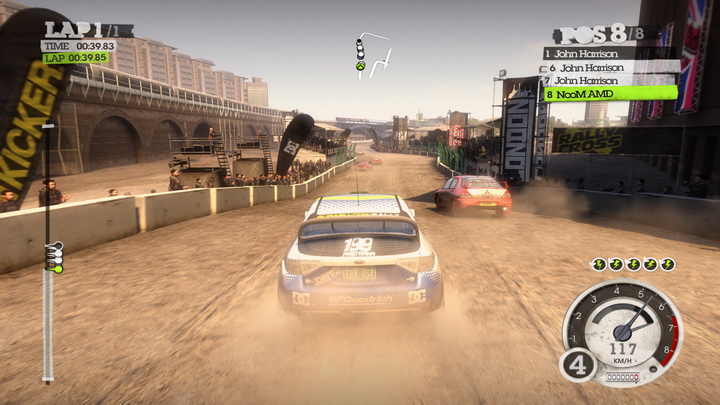 dirt2 game 2011 06 08 22 35 09 15 PNY Quadro 5000 2.5GB GDDR5 Review
