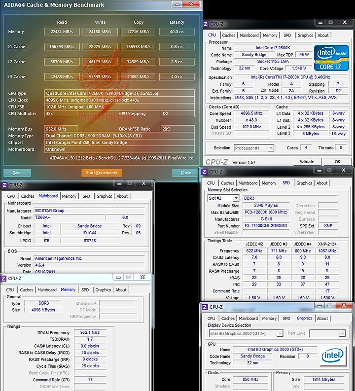 14 BIOSTAR TZ68A+ Motherboard Z68
