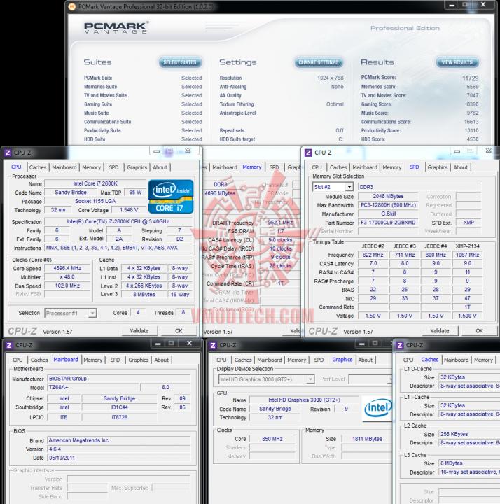 pcvantage 714x720 BIOSTAR TZ68A+ Motherboard Z68