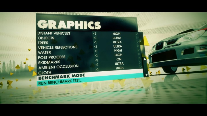 dirt3setting3 720x405 EVGA GeForce GTX560 Superclocked
