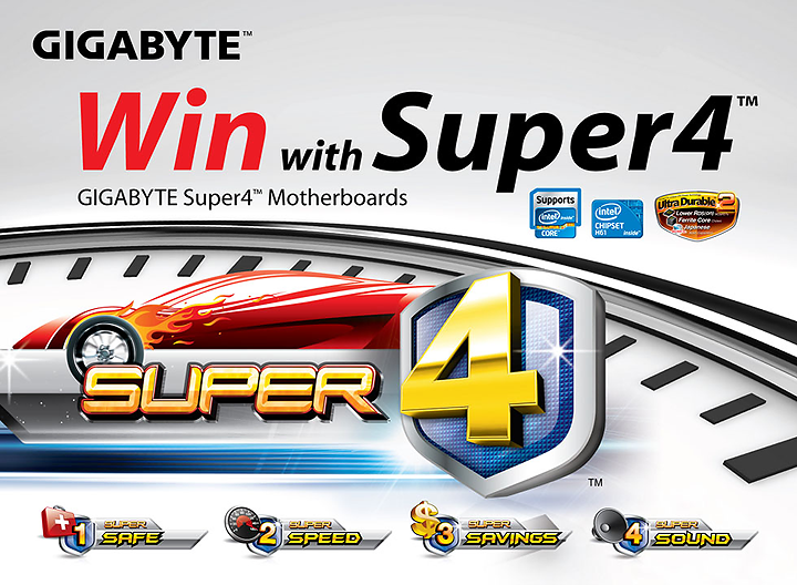 1 GIGABYTE Launches Super4™ Motherboard Series