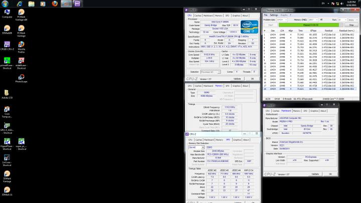 linx running 720x405 ASUS P8Z68 V PRO Motherboard