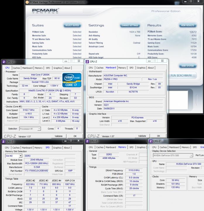 pcmarkvantage 697x720 ASUS P8Z68 V PRO Motherboard