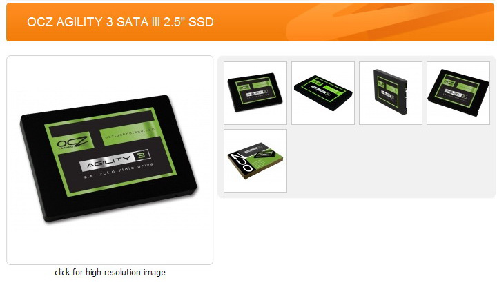 11 OCZ AGILITY3 SSD 60GB SATA III Review