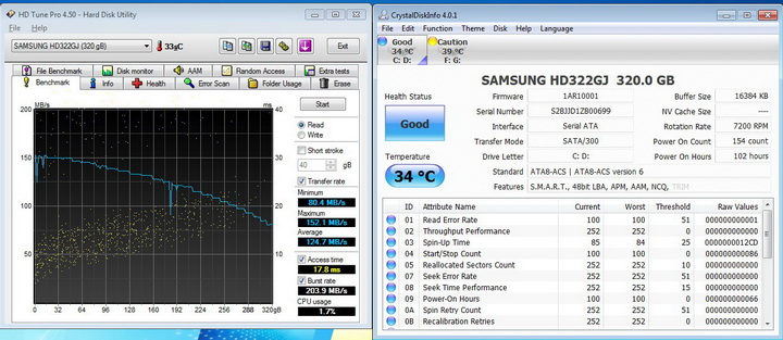 hd tune45 OCZ AGILITY3 SSD 60GB SATA III Review