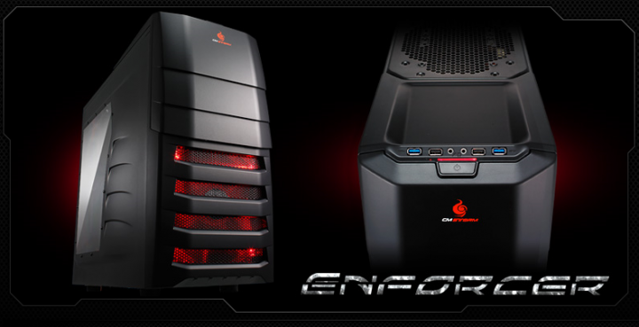 enforcer 720x369 Review : CMStorm Enforcer Mid Tower Gaming case