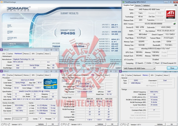 vantage 900 ASUS Radeon HD 6670 1GB GDDR5 Review