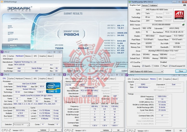 vantage ASUS Radeon HD 6670 1GB GDDR5 Review