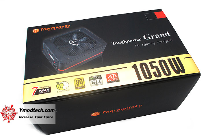 a Thermaltake Toughpower Grand 1050 w 80 PLUS GOLD