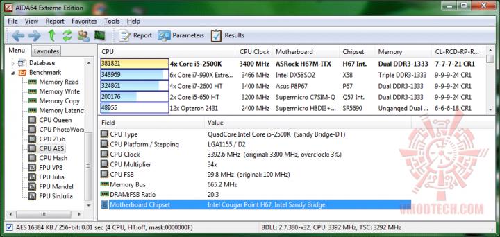 aida64 cpuaes 720x342 ASRock H67M ITX : Review