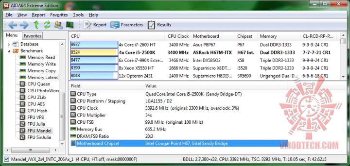 aida64 fpumandel 720x342 ASRock H67M ITX : Review