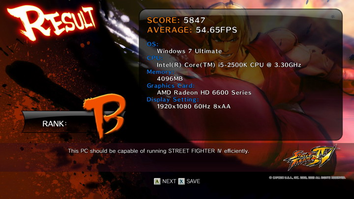 streetfighteriv benchmark 2011 06 19 00 41 17 76 ASUS Radeon HD 6670 1GB GDDR5 Review