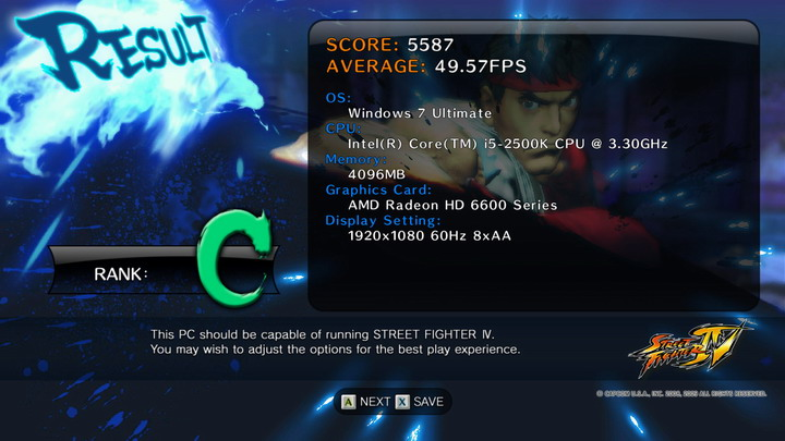 streetfighteriv benchmark 2011 06 24 21 21 59 59 ASUS Radeon HD 6670 1GB GDDR5 Review