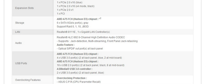 16 AMD Liano A8 3850APU on ASUS F1A75 M PRO Review