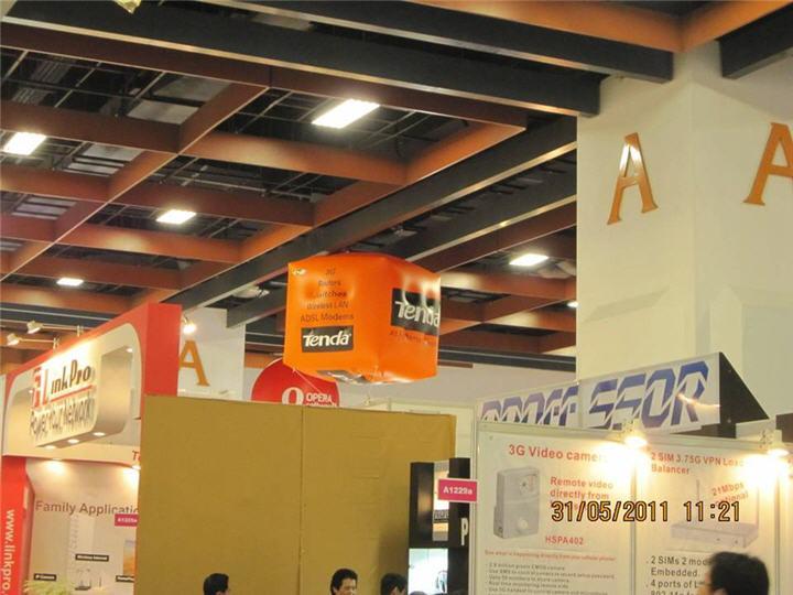 image004 TENDA ผลิตภัณฑ์ Network คุณภาพสูงระดับโลก  จัดแสดงผลิตภัณฑ์ Network Model ใหม่  รวมถึง Solution ที่น่าสนใจ ในงาน Computex Taipei 2011