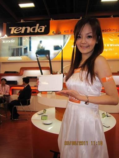 image005 TENDA ผลิตภัณฑ์ Network คุณภาพสูงระดับโลก  จัดแสดงผลิตภัณฑ์ Network Model ใหม่  รวมถึง Solution ที่น่าสนใจ ในงาน Computex Taipei 2011