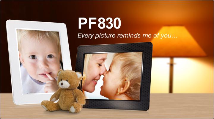 pf830 Transcend PF830 มาพร้อมหน่วยความจำภายใน 4GB