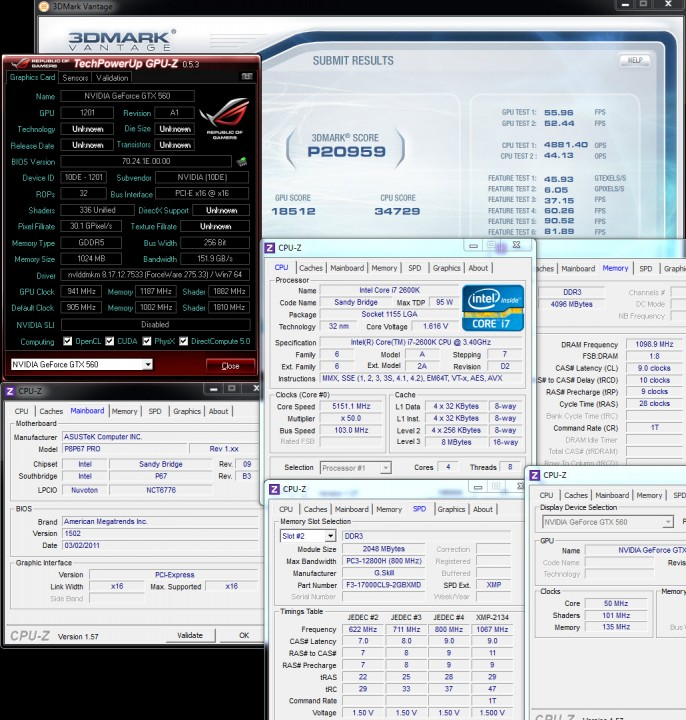 vantage oc 686x720 GALAXY GeForce GTX560 GC Version