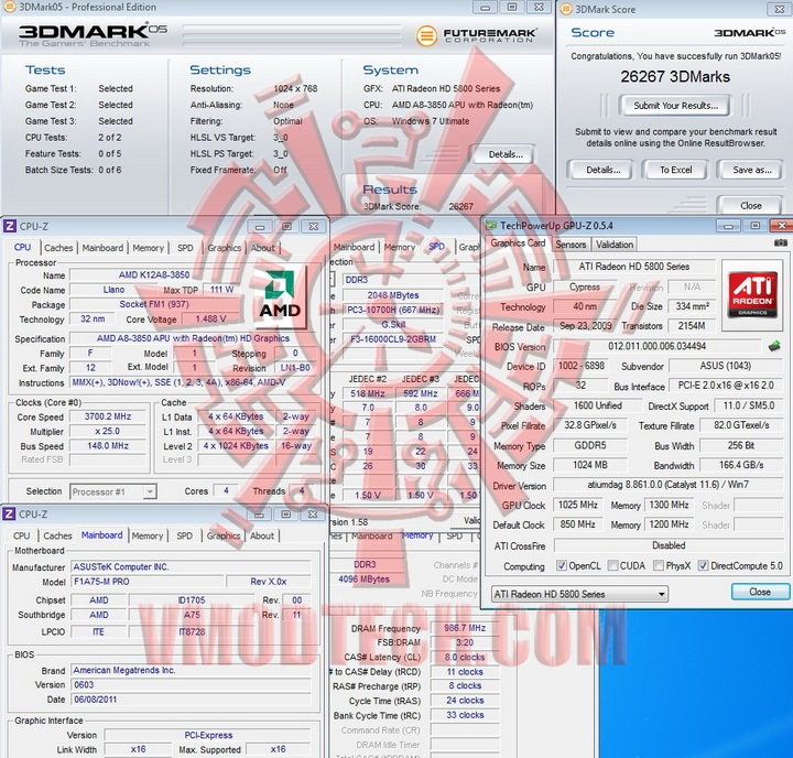 05 AMD Liano A8 3850 APU Real Performance Tests Review