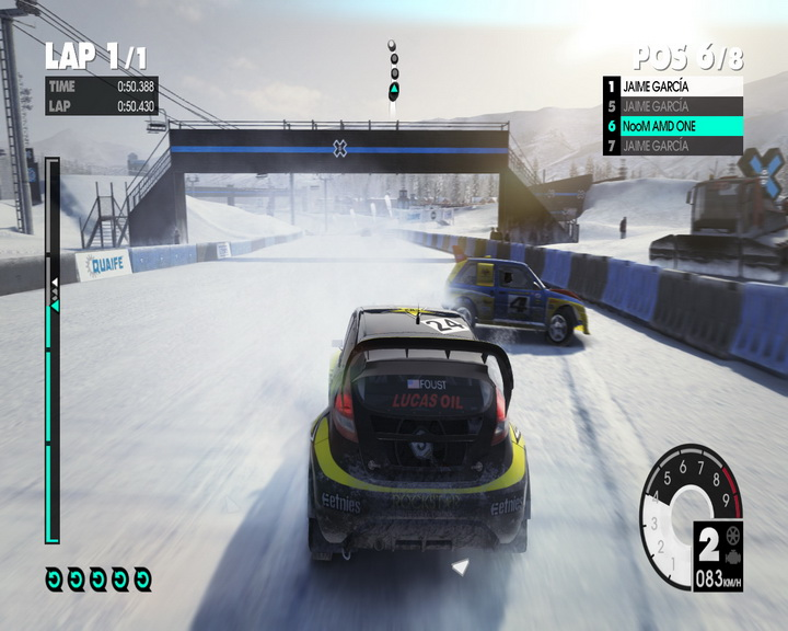 dirt3 game 2011 07 03 21 51 58 31 AMD Liano A8 3850 APU Real Performance Tests Review