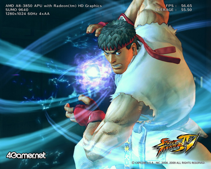 streetfighteriv benchmark 2011 07 03 21 55 27 70 AMD Liano A8 3850 APU Real Performance Tests Review